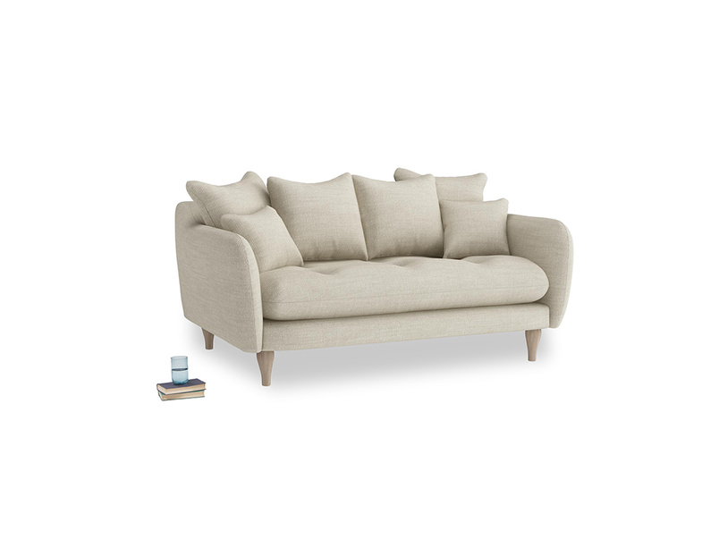 Small Skinny Minny Sofa in Shell Laundered Linen