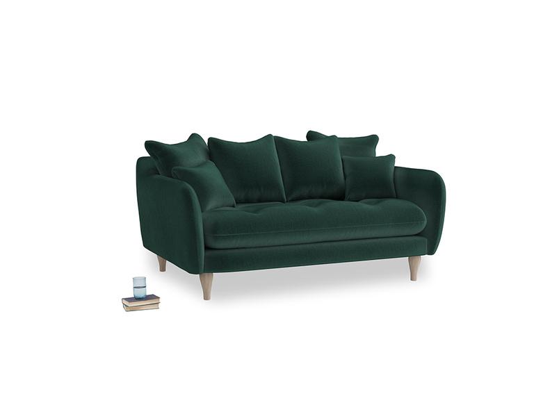 Small Skinny Minny Sofa in Dark grey Clever Deep Velvet