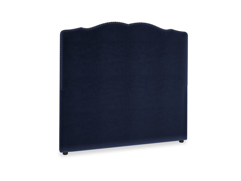 Double Marie Headboard in Goodnight blue Clever Deep Velvet