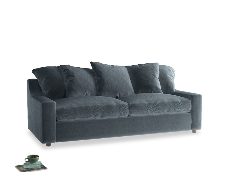 Large Cloud Sofa in Odyssey Clever Deep Velvet