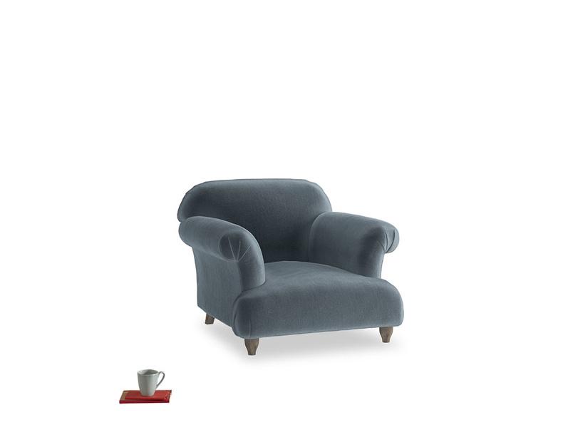 Soufflé Armchair in Odyssey Clever Deep Velvet