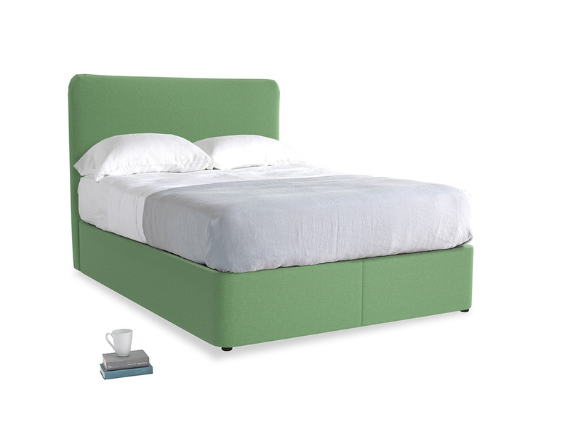 Clean Green Brushed Cotton Store With Ruffle