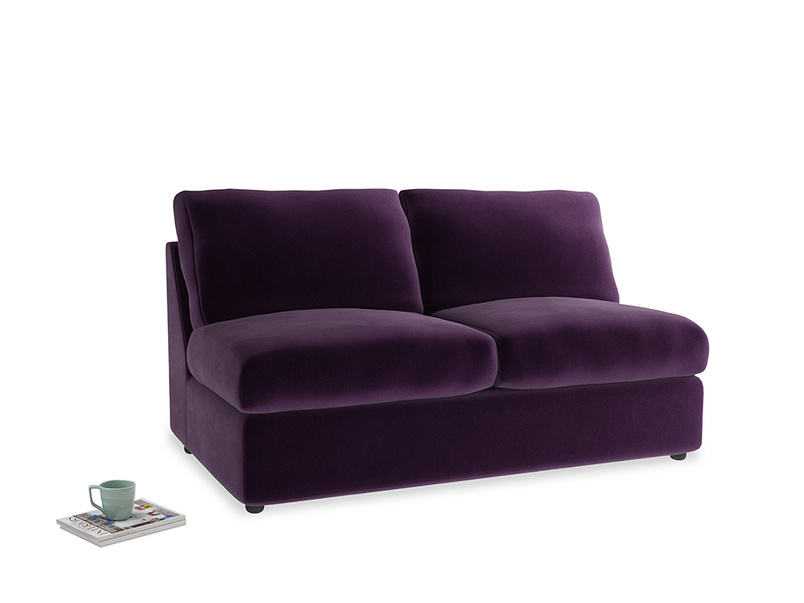 Chatnap Sofa Bed in Deep Purple Clever Deep Velvet