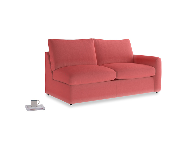 Chatnap Sofa Bed in Carnival Clever Deep Velvet with a right arm