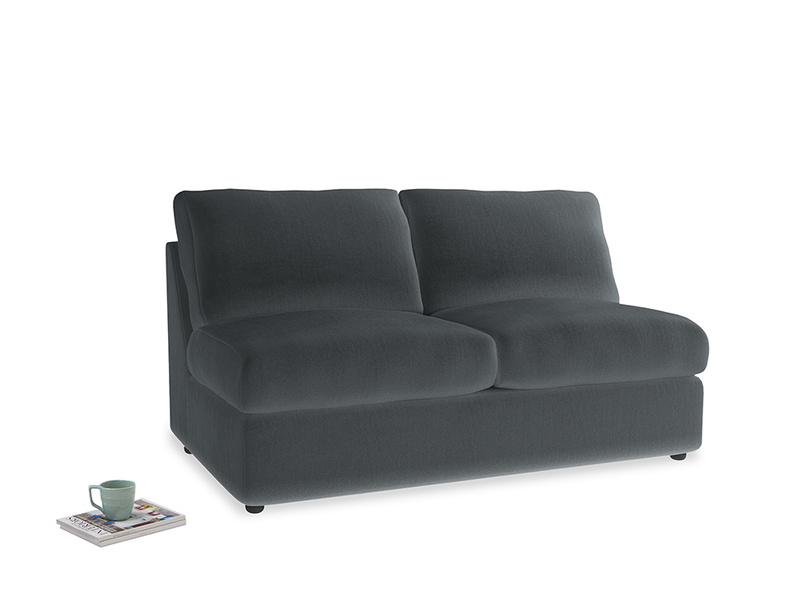 Chatnap Storage Sofa in Dark grey Clever Deep Velvet