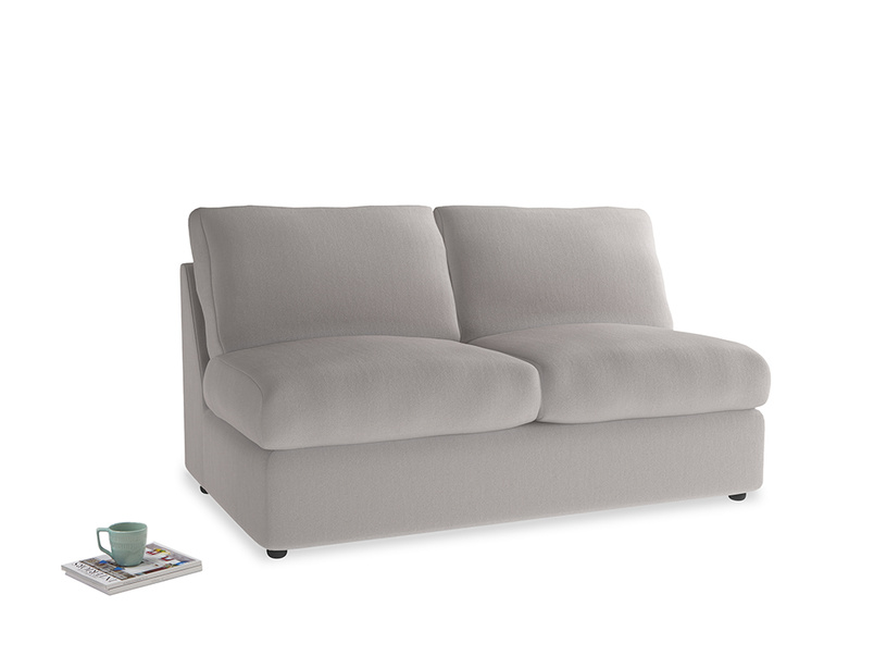 Chatnap Storage Sofa in Mouse grey Clever Deep Velvet