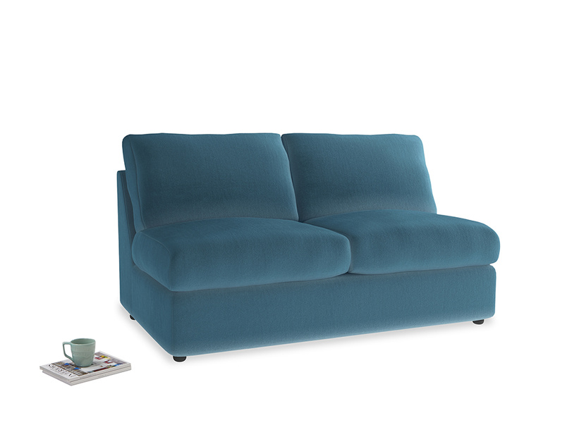 Chatnap Storage Sofa in Old blue Clever Deep Velvet