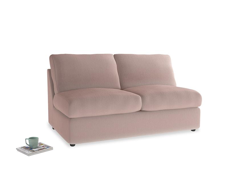 Chatnap Storage Sofa in Rose quartz Clever Deep Velvet