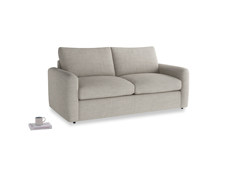 Chatnap Storage Sofa in Grey Daybreak Clever Laundered Linen with both arms
