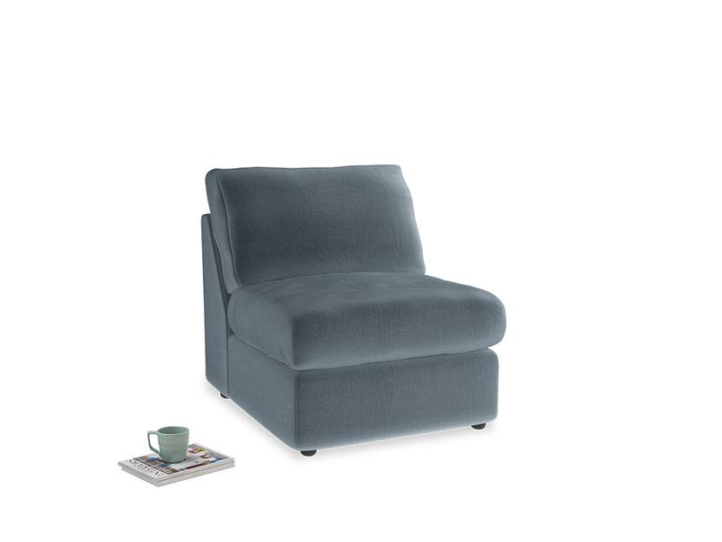 Chatnap Storage Single Seat in Odyssey Clever Deep Velvet