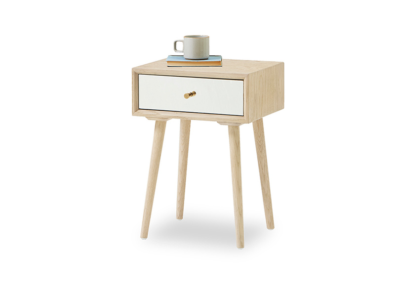 Little Trixie mirror and oak side table
