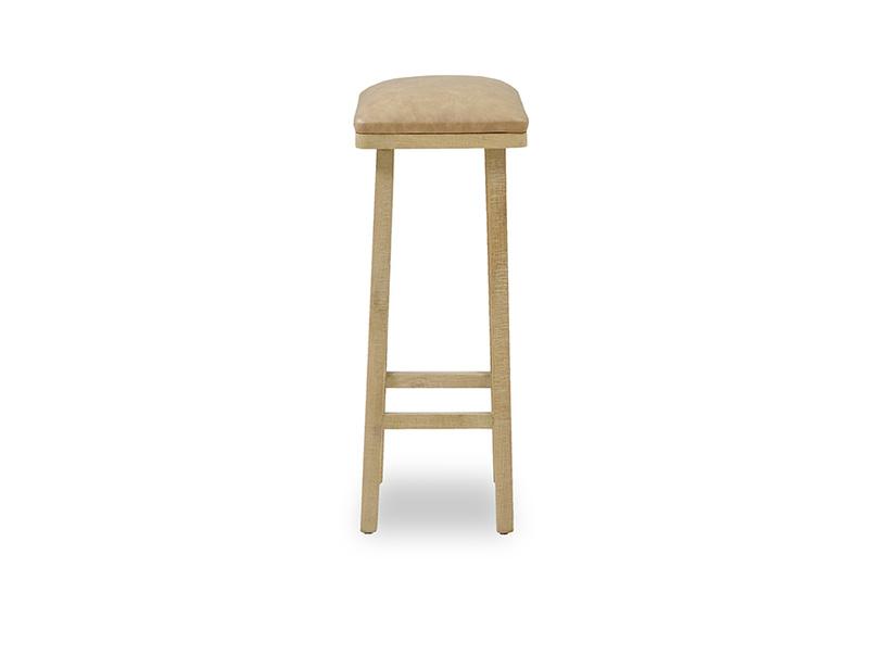 Tall Bumpkin leather bar stool