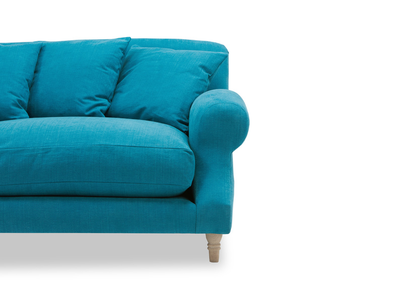 Crumpet sofa - front detail