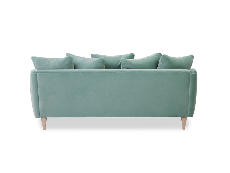 Skinny Minny sofa back detail