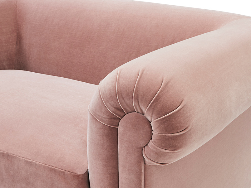 Humblebum sofa arm detail