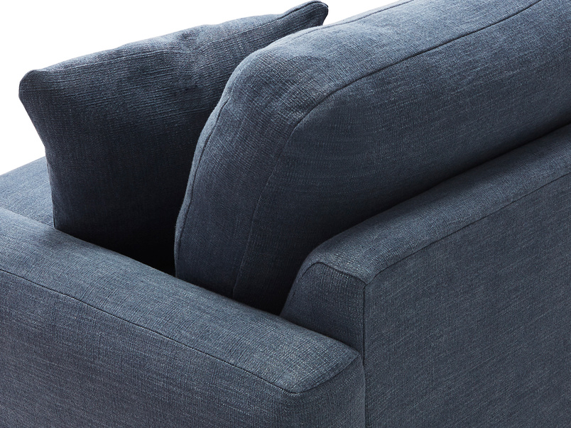 Easy Squeeze sofa arm and back detail