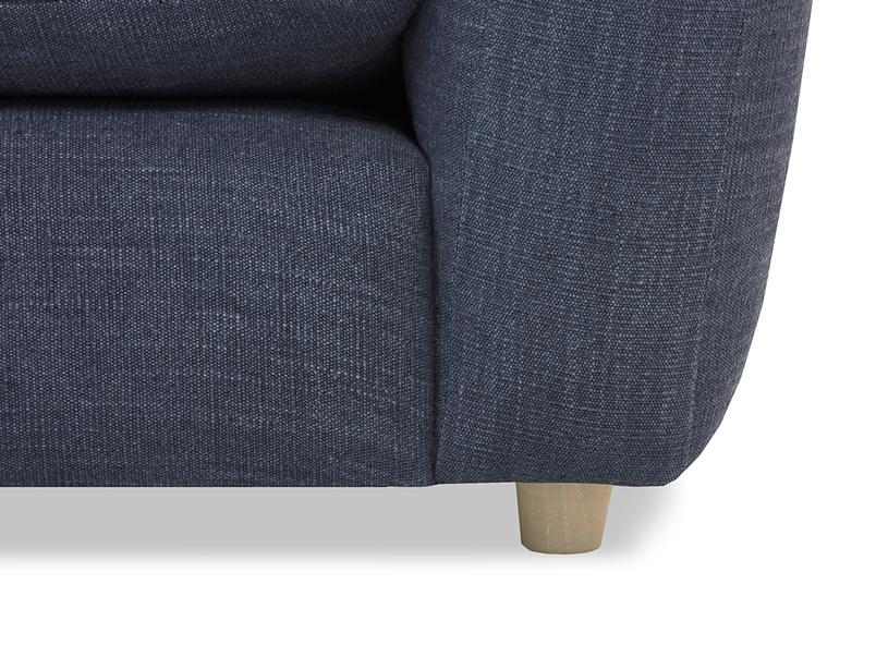 Easy Squeeze sofa leg detail