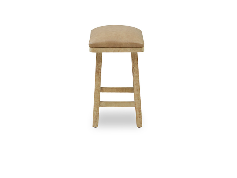 Little Bumpkin small kitchen stool side detail