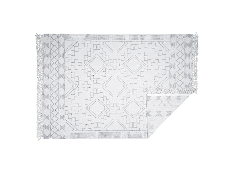 Sketch patterned rug