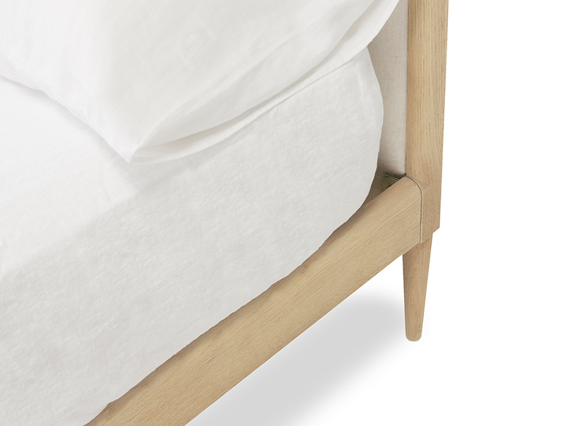 Smoothie wooden french style bed frame