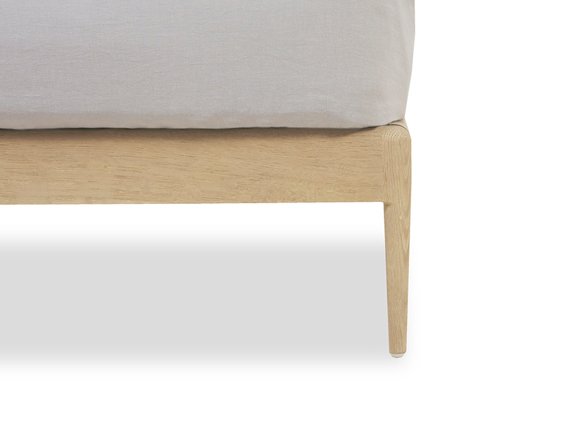 Smoothie wooden french bed frame