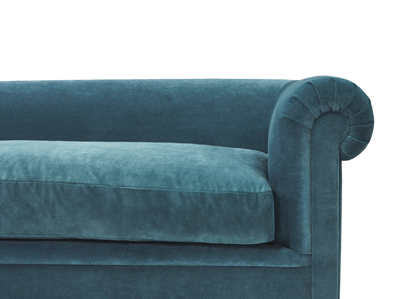 Humblebum roll arm sofa