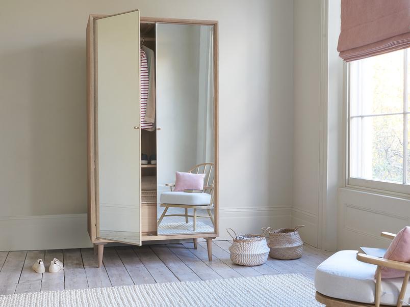 Grand Trixie mirrored wardrobe bedroom furniture