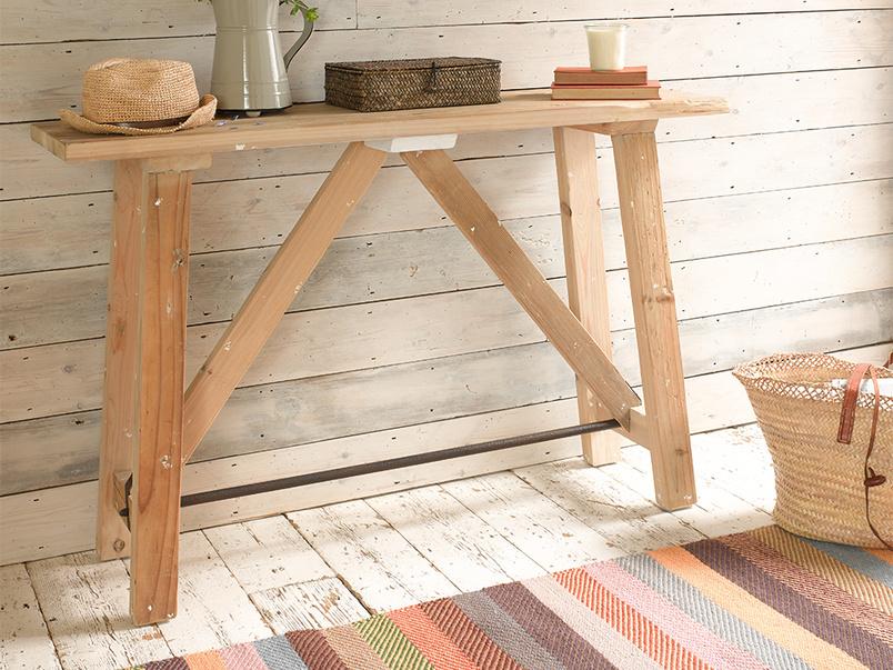 Handmade Tuppence woven herringbone striped rug