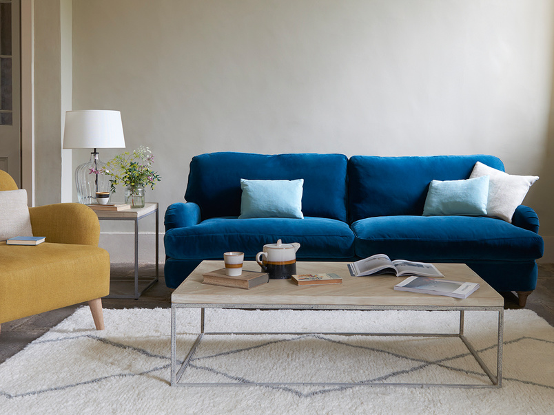 Jonesy upholstered modern style sofa