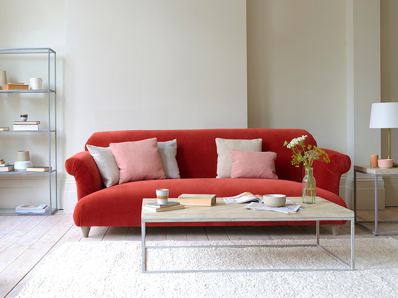 Souffle feather free sofa