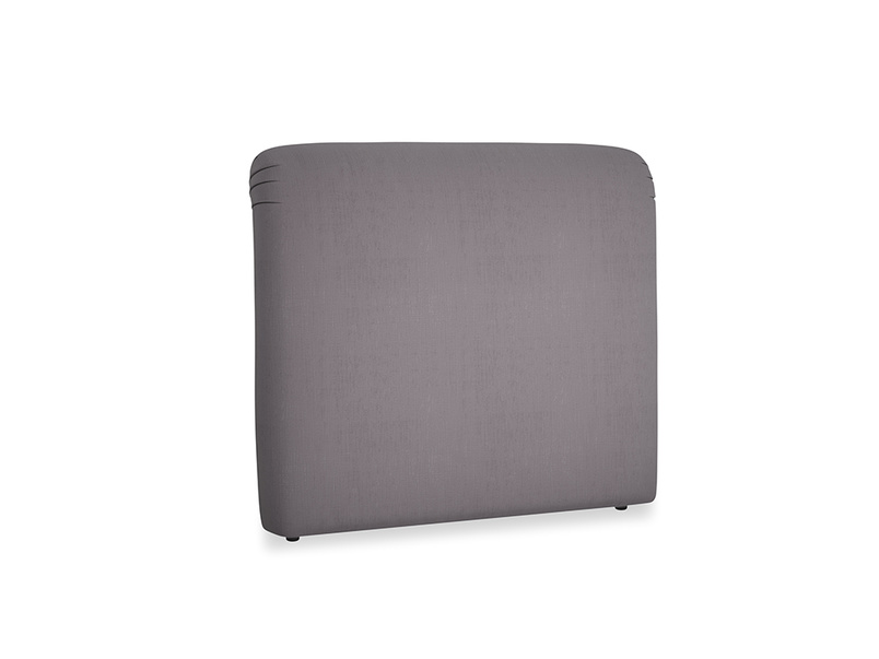 Double Cookie Headboard in Graphite grey clever cotton