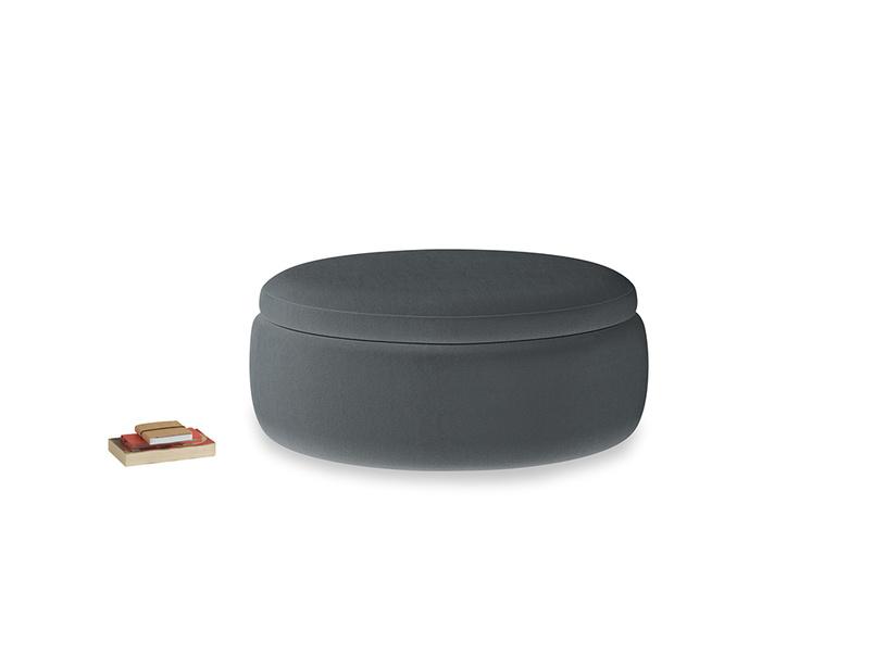 Pot Pie in Dark grey Clever Deep Velvet
