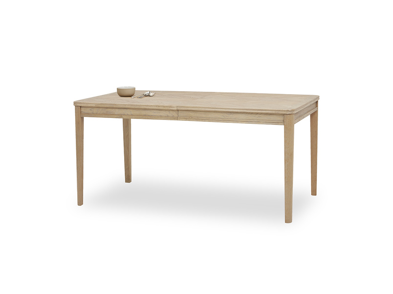 Jigsaw Oak Dining table angled