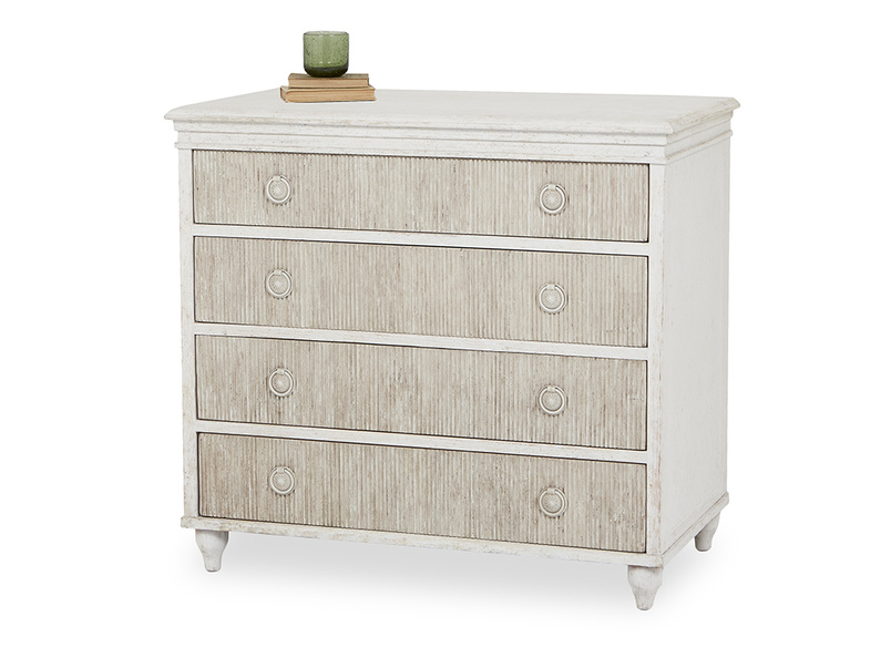 Tilda grooved drawers chest of drawers front
