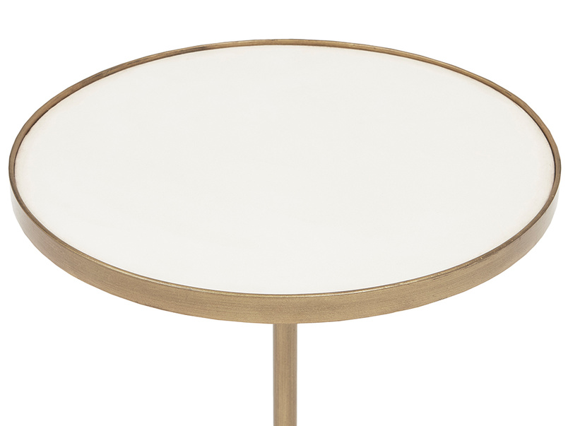 Vino small round side table top