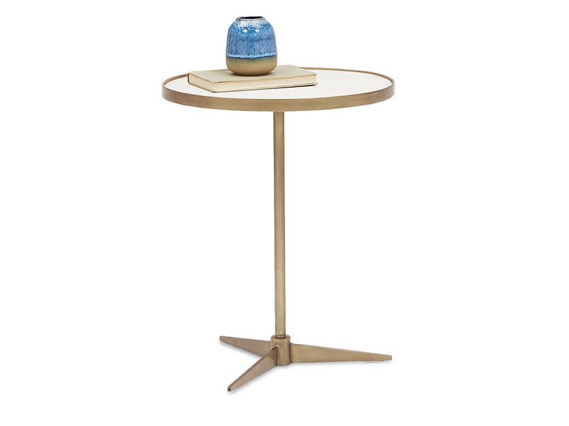 Vino small side table angled