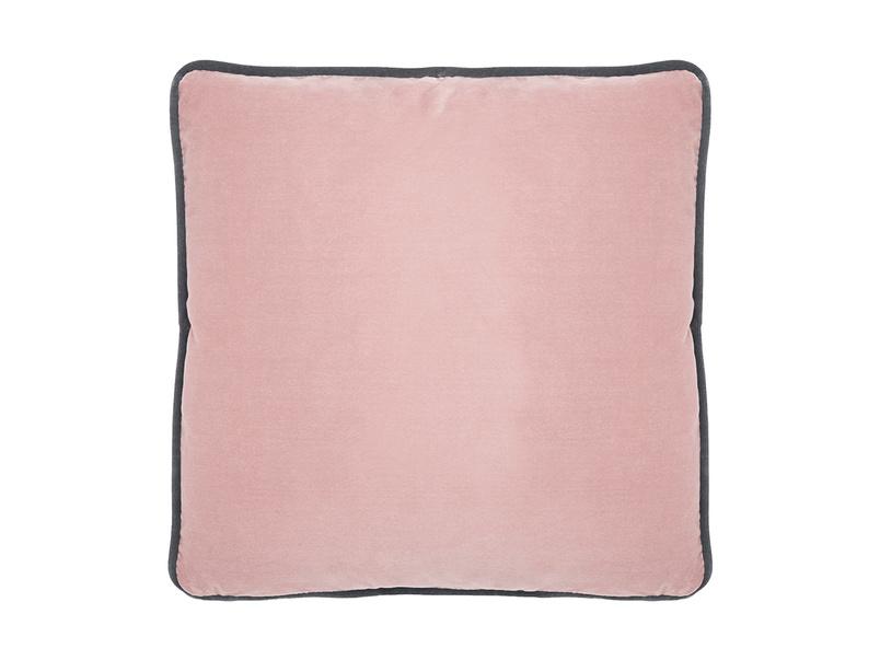 Jumbo Pipelet in Chalky pink vintage velvet