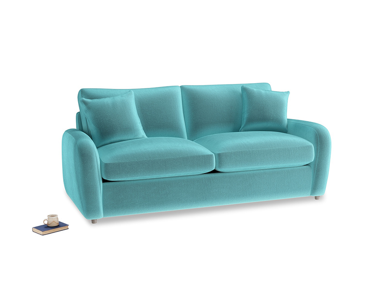 Medium Easy Squeeze Sofa Bed in Belize clever velvet