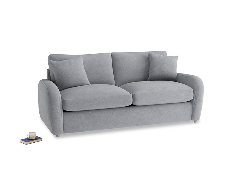 Medium Easy Squeeze Sofa Bed in Dove grey wool