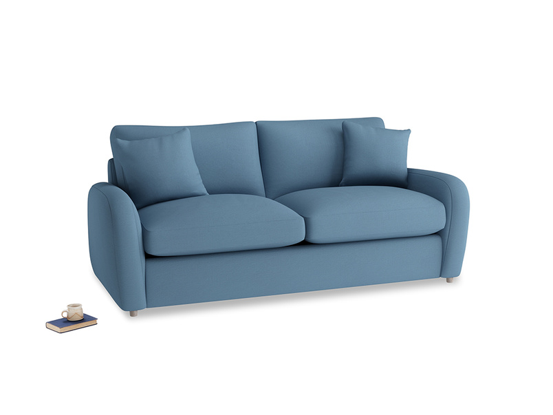 Medium Easy Squeeze Sofa Bed in Easy blue clever linen