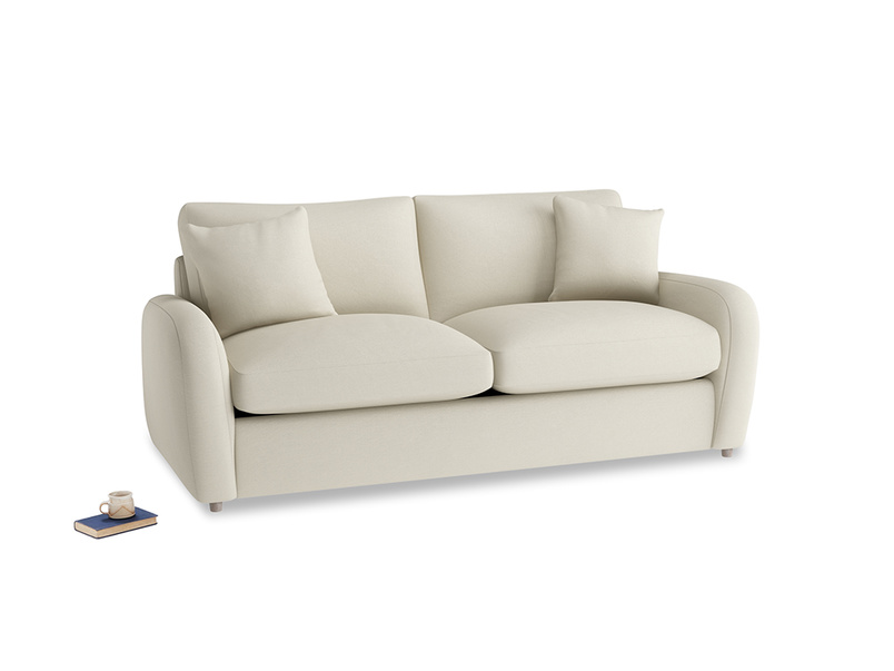 Medium Easy Squeeze Sofa Bed in Pale rope clever linen