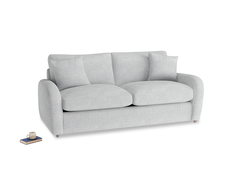 Medium Easy Squeeze Sofa Bed in Pebble vintage linen