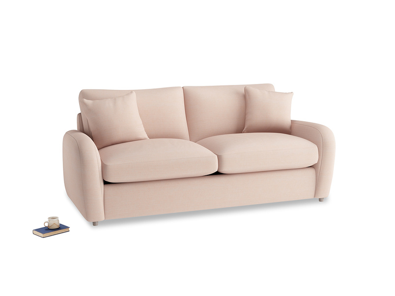 Medium Easy Squeeze Sofa Bed in Pink clay Clever Softie