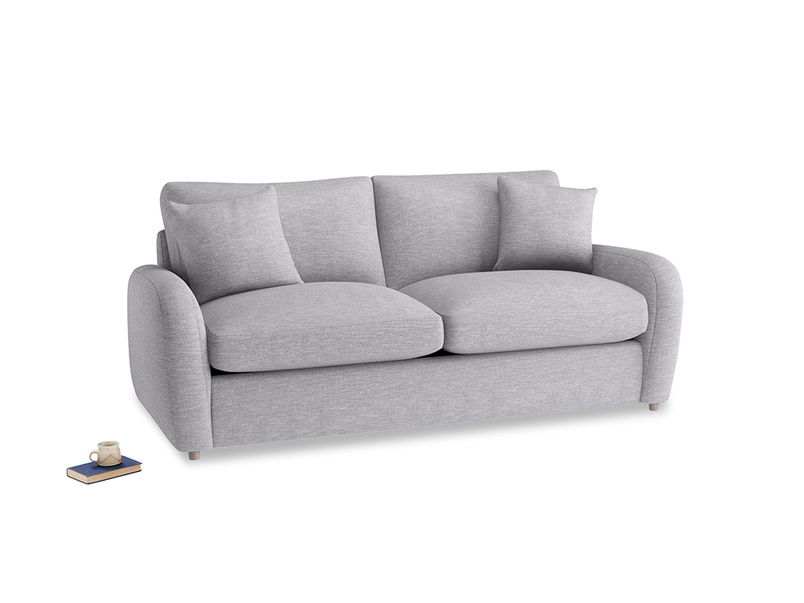 Medium Easy Squeeze Sofa Bed in Storm cotton mix