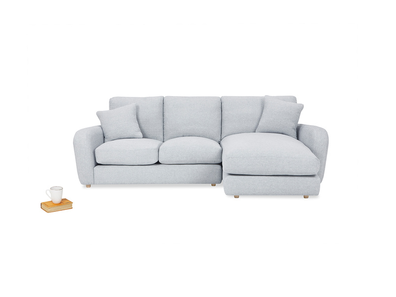 Easy Squeeze Comfy Chaise Sofa