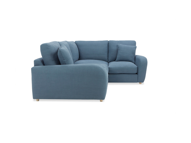 Easy Squeeze Corner Sofa left side
