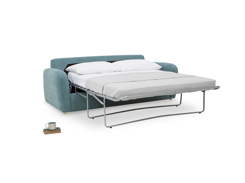 Easy Squeeze Double Sofa Bed folded out