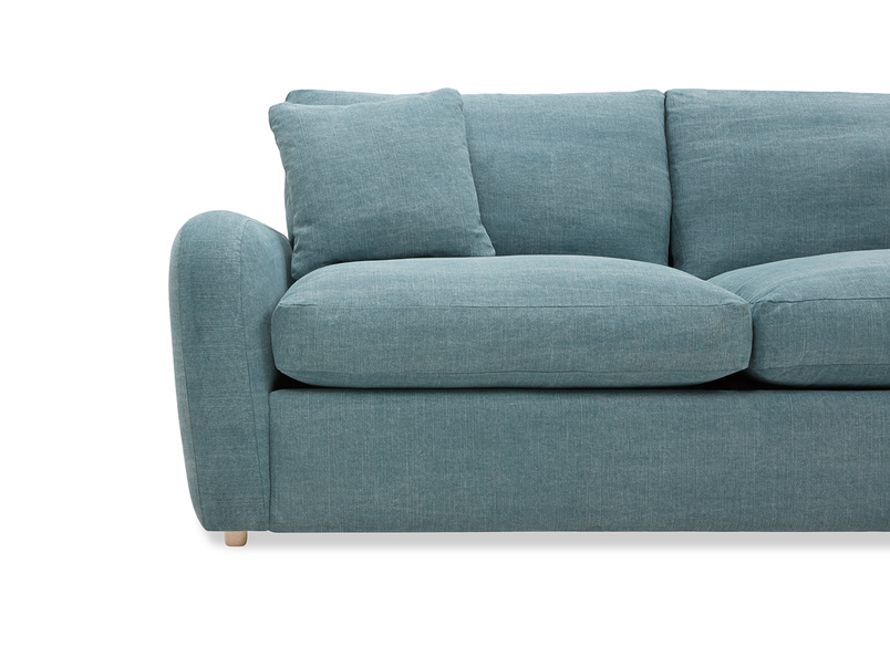 Easy Squeeze Sofa Bed arm detail