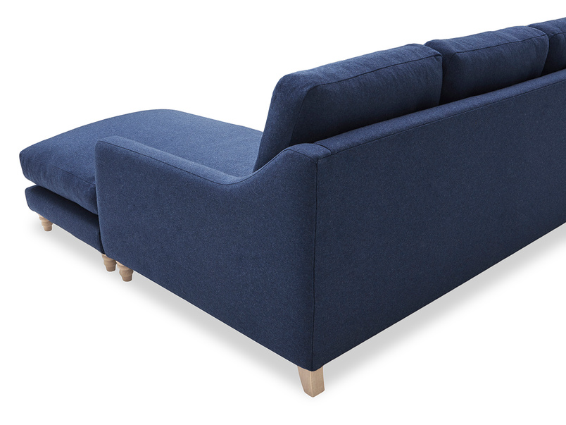 Slim Jim Chaise Sofa back corner detail