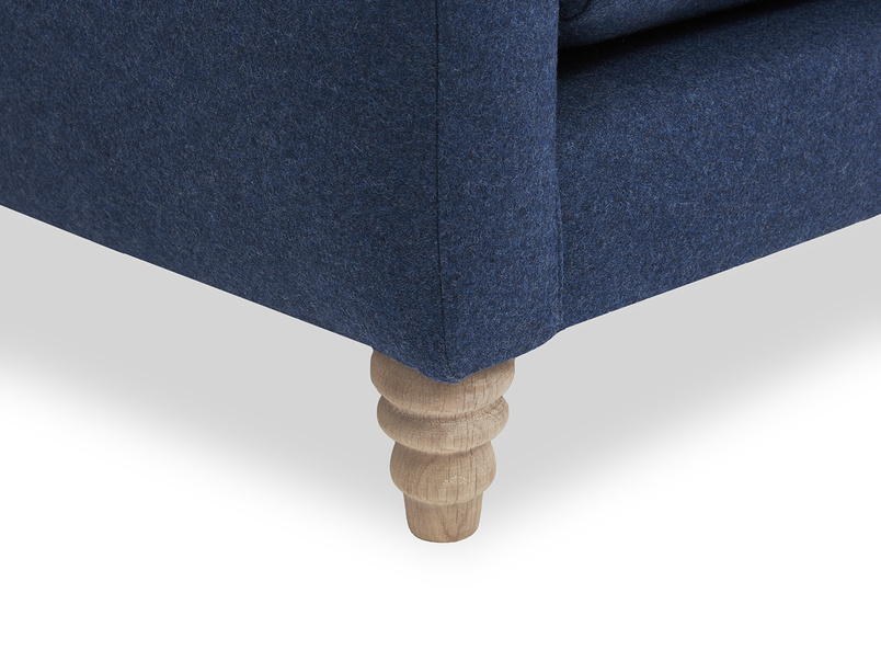 Slim Jim Chaise Sofa leg detail